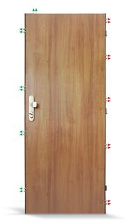 kvalitní bezpečnostní dveře Šumperk
