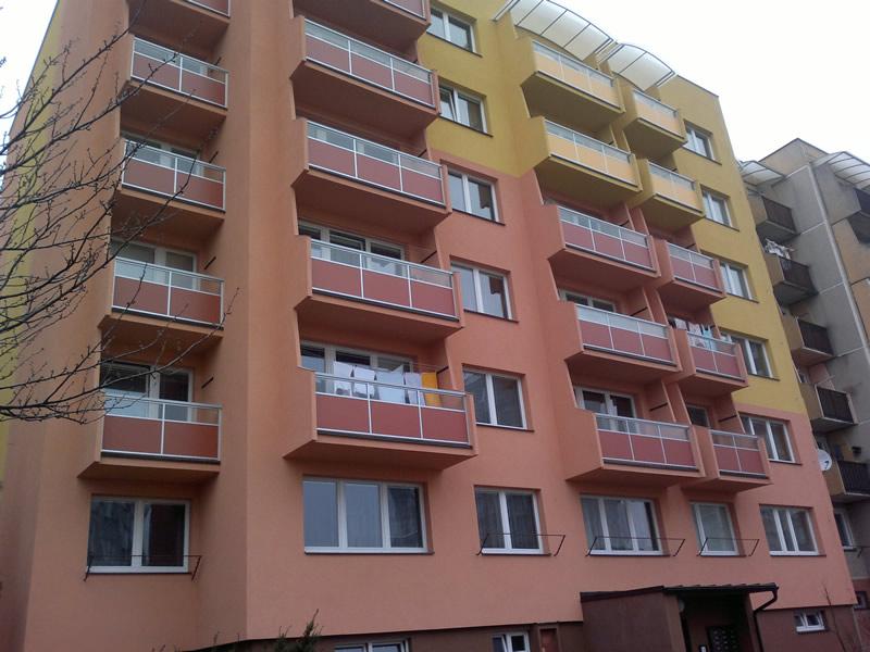 Balkonové zábradlí Hustopeče - výroba na zakázku
