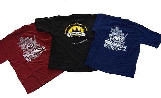 Potisk triček, textilu, pracovních oděvů - tisk na zakázku dle vašeho motivu