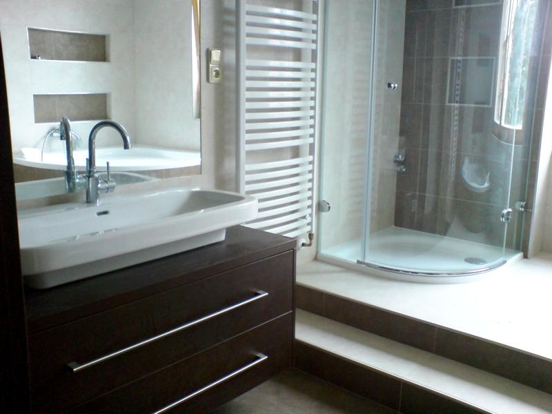 Rekonstrukce koupelen a bytového jádra, včetně kuchyně na míru