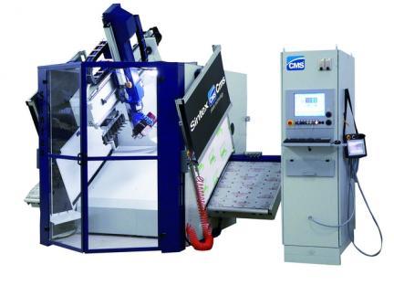 CMS stroje na obrábění, řezání plastu a frézování