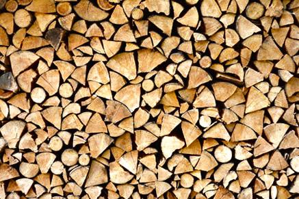 Palivové dřevo se slevou