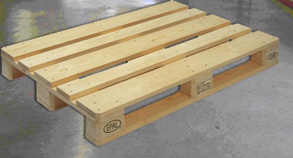Dřevěné palety Epal