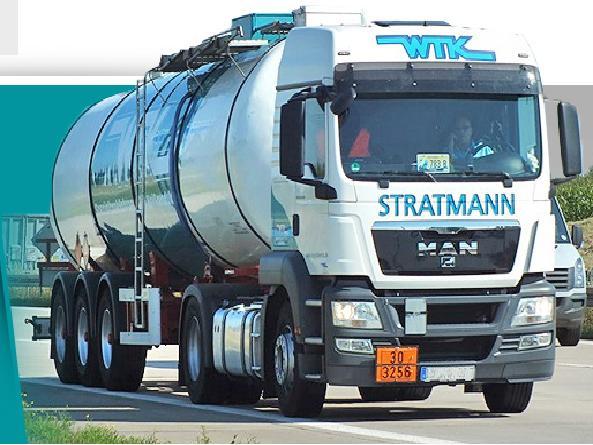 Internationaler Transport von gefährlichen Gütern und Chemikalien die Tschechische Republik