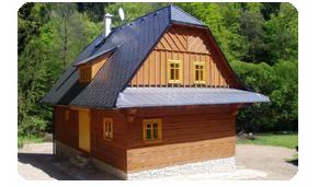 Realizujeme rekreační objekty i rodinné domky
