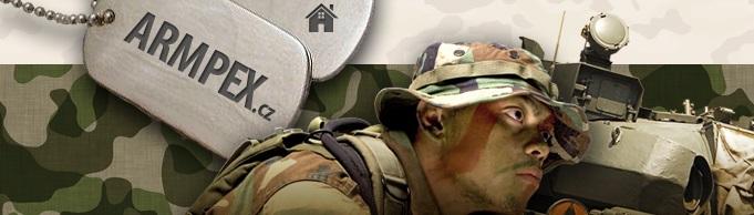 Vojenská technika a vojenský materiál - svítilny i bajonety