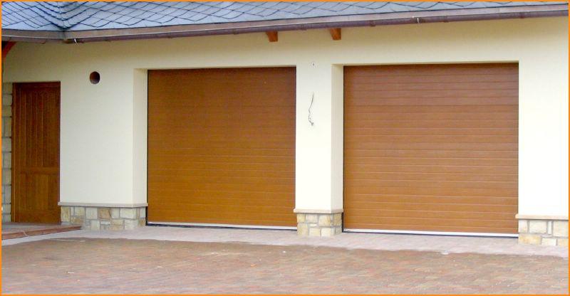 Rolovací garážová vrata Hostinné – DOST Vrchlabí