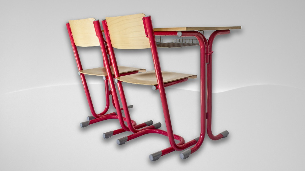 Školní lavice od českého výrobce