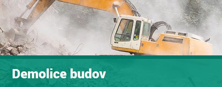 Demoliční práce, demolice budov Praha