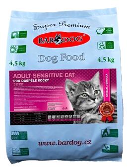 granule pro kočky Bardog