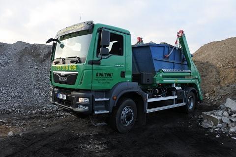 Pronájem kontejneru a odvoz stavebního odpadu