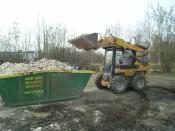 Přistavení kontejneru - Renault Midlum