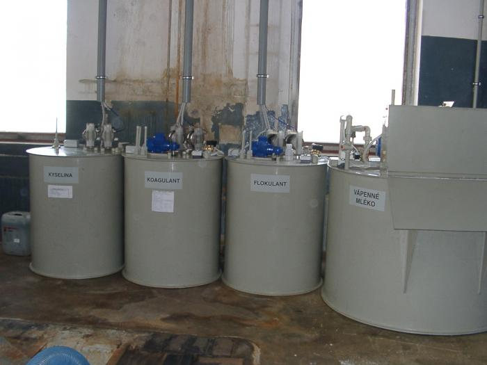 Chemické čistírny odpadní vody Praha 9