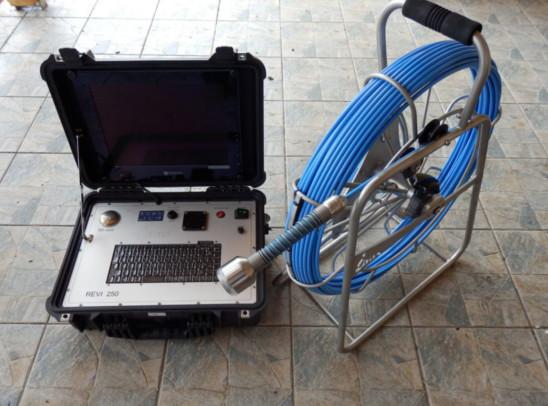 Kamerový systém - čištění kanalizací Teplice