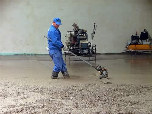Železobetonové průmyslové podlahy