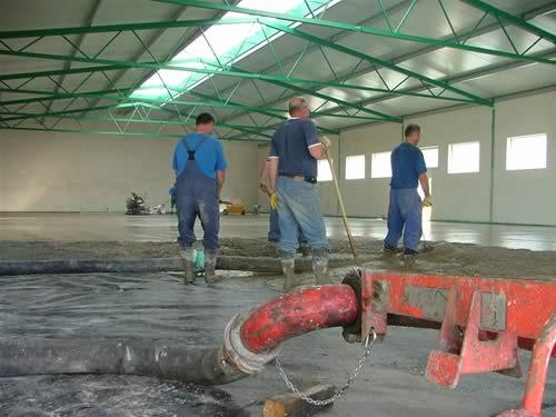 Železobetonová podlaha