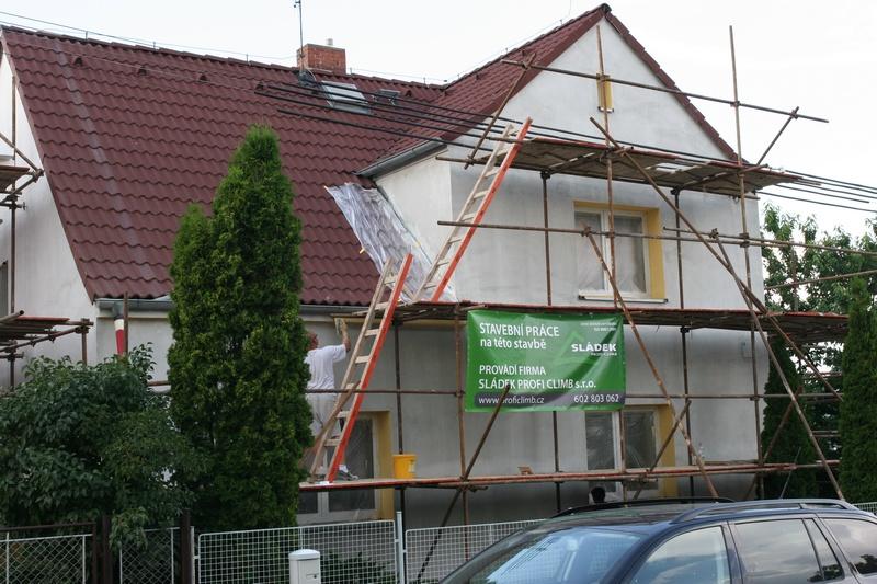 Zateplování fasád, opravy fasád  Plzeň