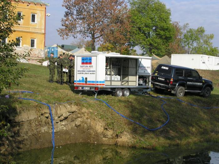 Úprava vody pitné, užitkové - Praha 9