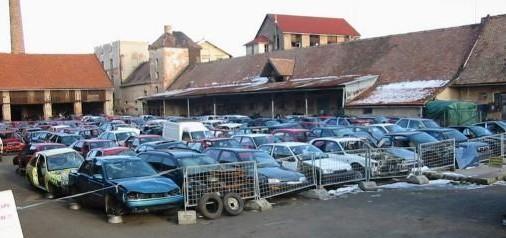 Výkup havarovaných aut - vrakoviště Jičín