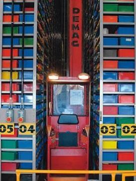 bezpečné skladování zboží