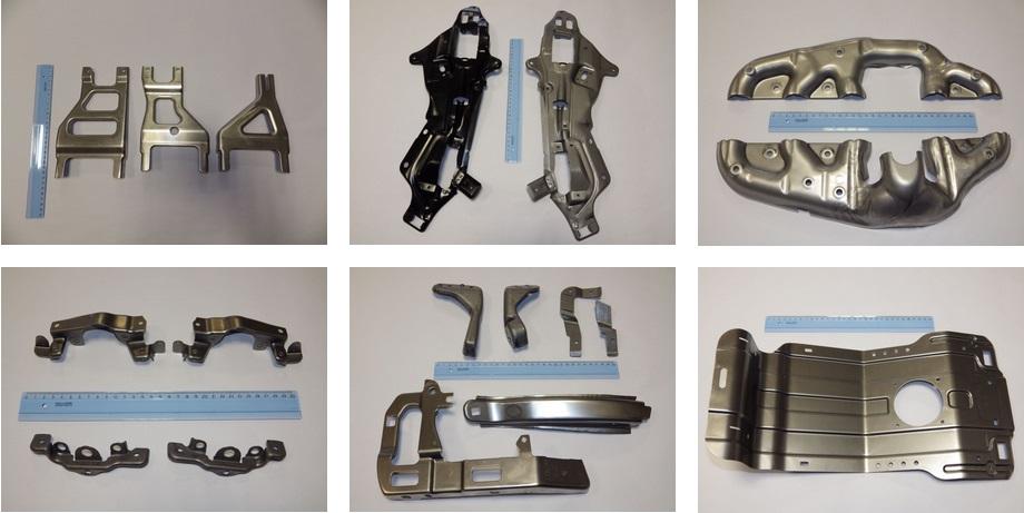 hydraulické a mechanické lisy