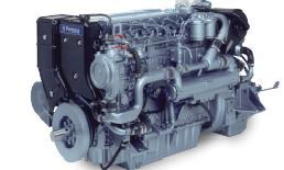 Lodní motor značky Perkins