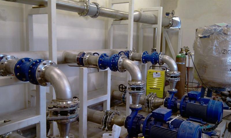 Automatické tlakové stanice - montáž, oprava
