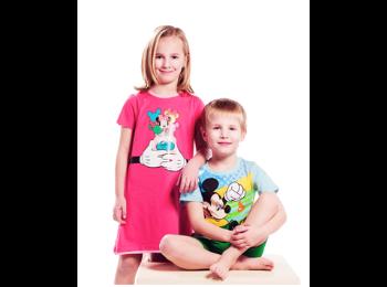 Original t-shirts for children with cartoon heroes, the Czech Republic