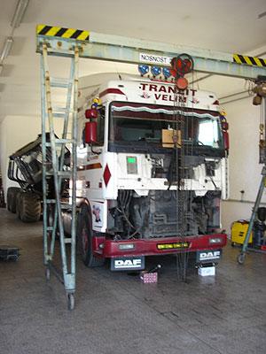 Servis nákladních aut Sihelský v Kolíně