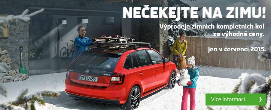 Výprodeje zimních kol Škoda - eshop