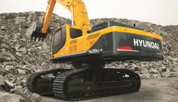Stavební stroje - Hyundai R520LC-9