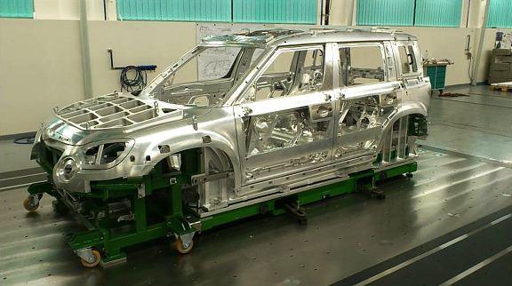 Kontrolní přípravky pro automobilový průmysl