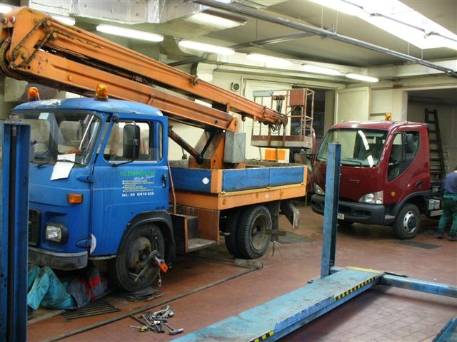 Servis nákladních aut v Trutnově u firmy Beran