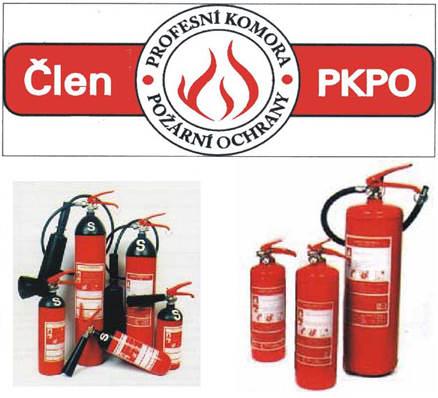 Servis a revize hasicích přístrojů Praha - kompletní služby v PO a BOZP