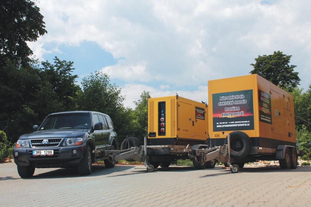 spolehlivý pronájem elektrocentrál Uherské Hradiště