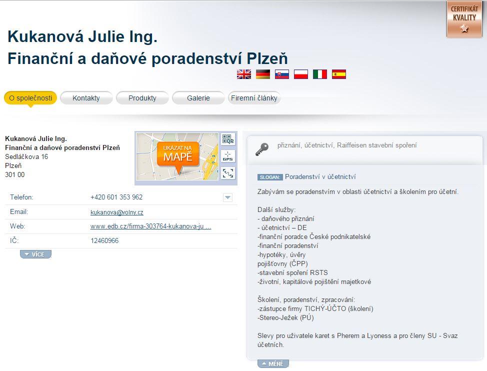 Účetní poradenství Plzeň