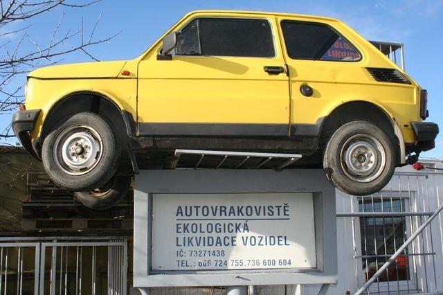 Autovrakoviště Olomouc, Přerov - ekologická likvidace vozidel, odvoz autovraků