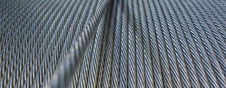 Ocelová lana jednopramenná přímo od výrobce