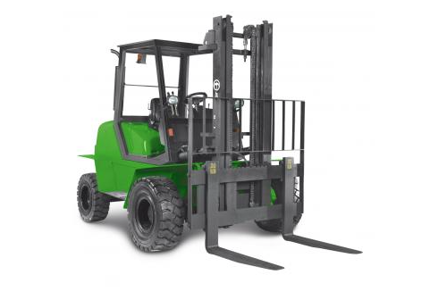 Terénní vysokozdvižné vozíky s výkonným motorem a širokými pneumatikami Litoměřice