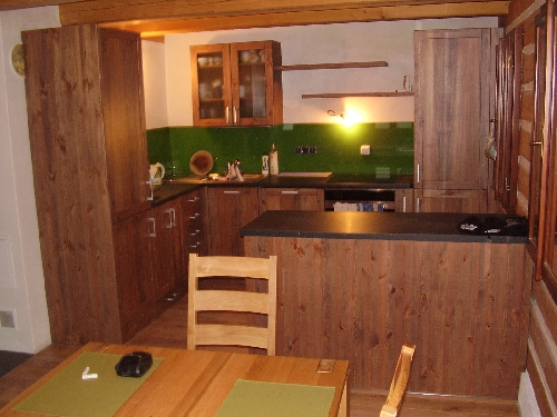 Výroba kuchyní z masivu na míru Dobruška, Vamberk