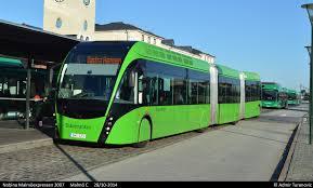 Autobus - městská doprava Malmö