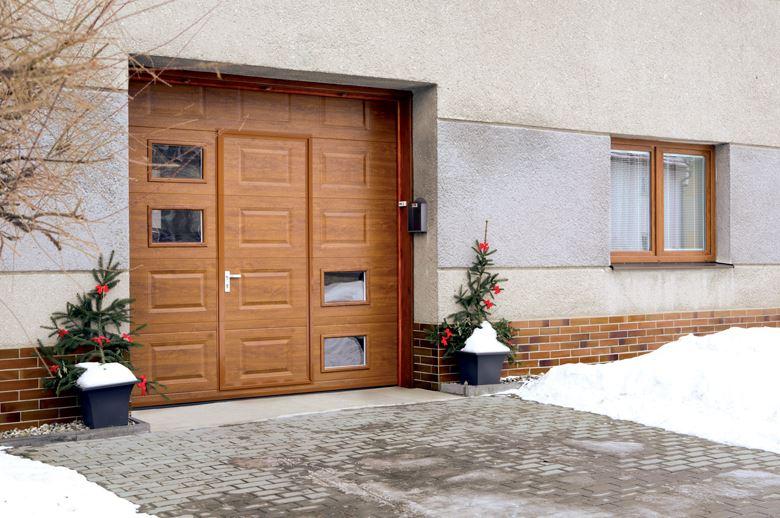Sekční vrata prodej montáž Praha 10