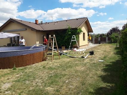 Rozvoz a dovoz vody do bazénů Praha