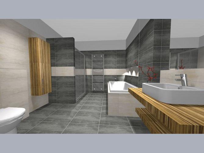 grafické návrhy koupelen