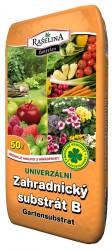 Pěstební zeminy, hnojiva, substráty.
