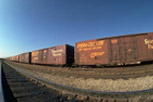 Železniční autodoprava nebezpečného zboží