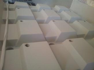 Průmyslová keramika, žárobetony, železobetonové tvarovky - výroba, prodej