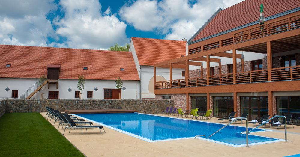 Ubytování v zámeckém wellness centru Vysočina