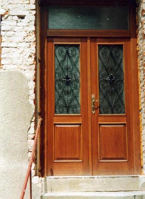Výroba dřevěných vchodových dveří z masivu | Rychnov nad Kněžnou