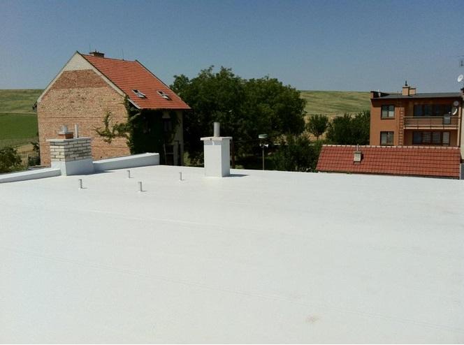 Izolace plochých střech, hydroizolace základů, spodní stavby